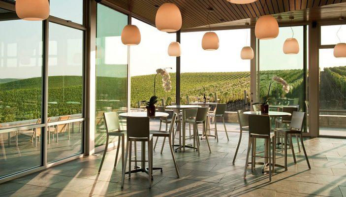Hudson Barstool Cuvaison Winery Tasting Room ©